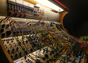 SpaceFight patching Buchla 200